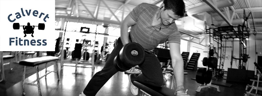 Calvert Fitness header image