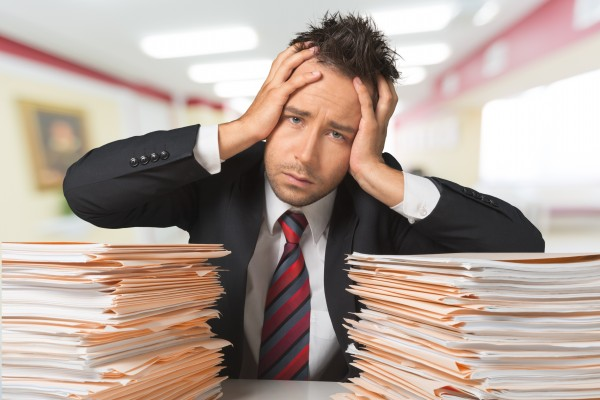 Paperwork, Busy, Businessman.